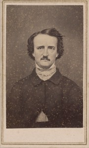 NON-Morgan, Carte-de-visite photograph of Edgar Allen Poe, Private Collection (Susan Jaffe Tane Collection)